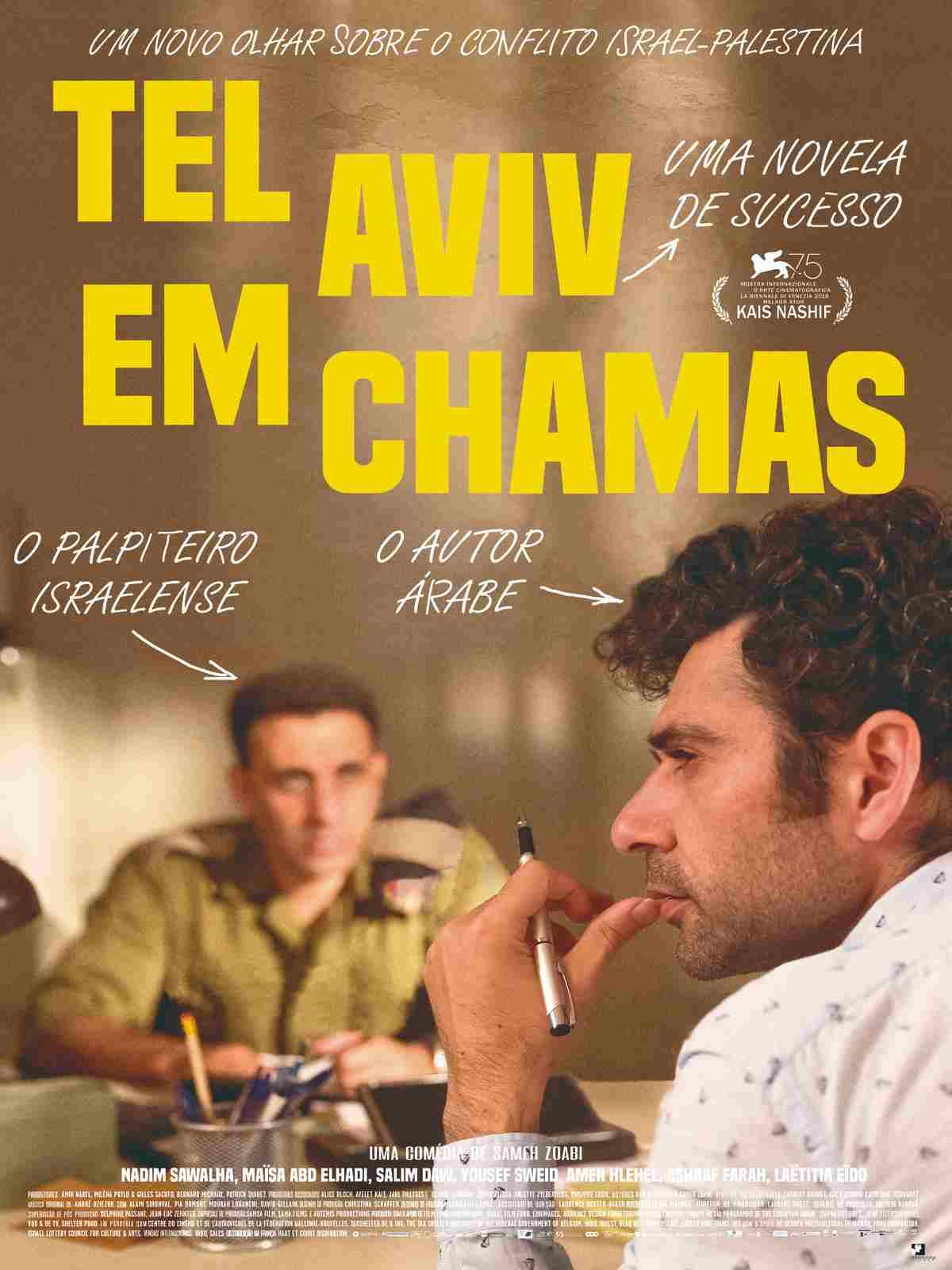 TEL AVIV EM CHAMAS